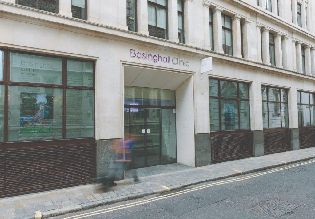 Basinghall Clinic exterior