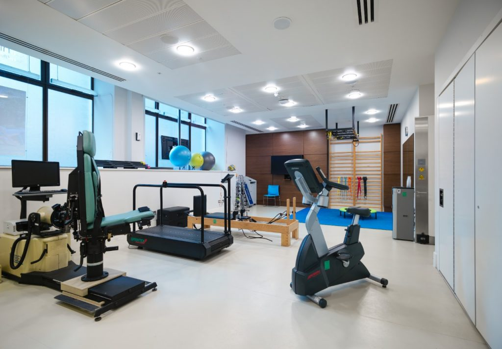 Basinghall Clinic gym